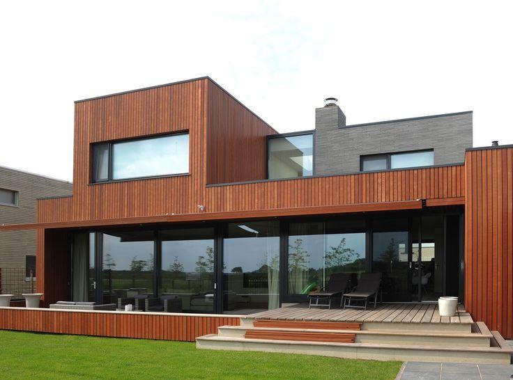 Mbi bv product geosteen geostylistix photoid 176197 huizen pinterest gevel huizen - Eigentijds huis grijs ...