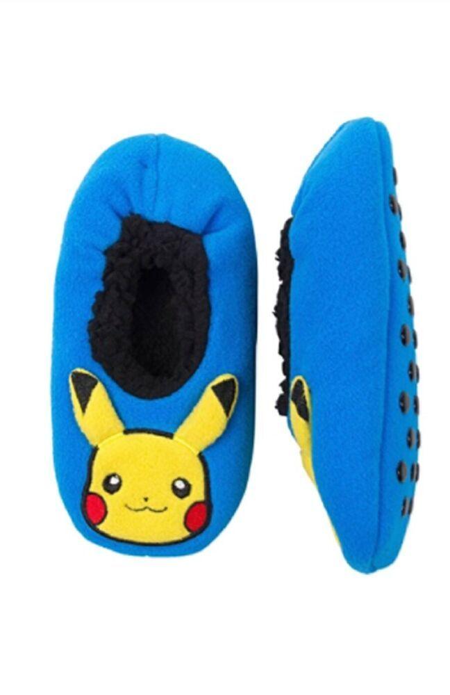 Pokemon Pikachu Fuzzy Babba Slipper