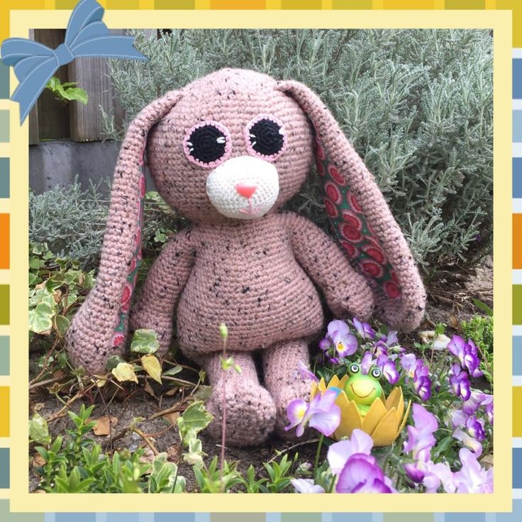 Haakpatroon langoor konijn - Haak je mee