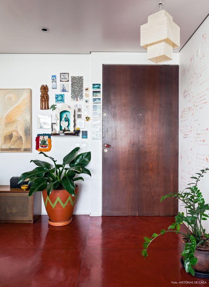 25 melhores ideias de piso vermelho no pinterest for Pisos pintados modernos