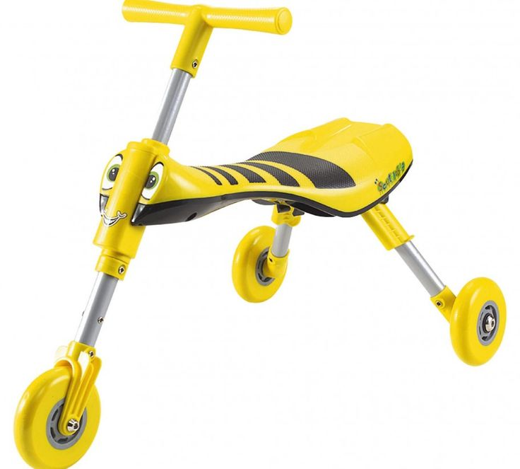 Scuttlebug Bumble Bee ride on in Yellow & Black ideal from 1 year