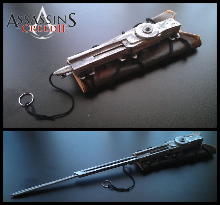 AC2 - Hidden Blade by Trujin.deviantart.com on @DeviantArt