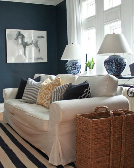Dark Blue Living Rooms 73 best navy/yellow/&maybe grey living room makeover images on