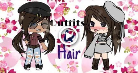 gacha life outfit  hair ideas hair  girls hairstyles