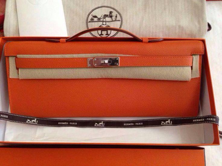 kelly cut brand new in orange shw  R stamp