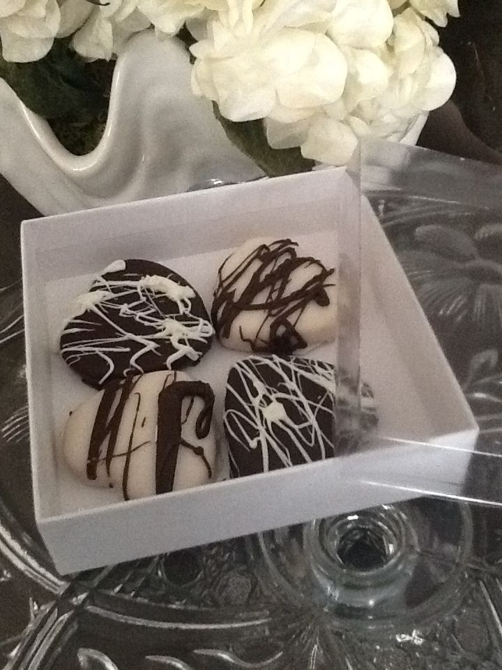 Chocolate Hearts Favors