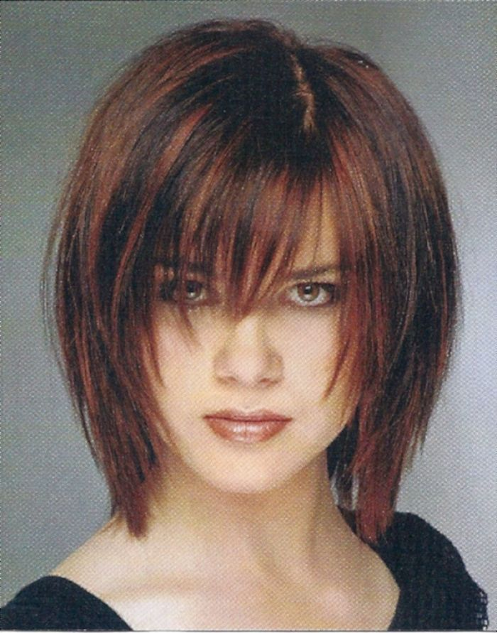 Sensational 1000 Images About Long Layered Bob Hairstyles On Pinterest Hairstyle Inspiration Daily Dogsangcom