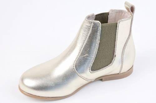 Clotair Golden Chelsea Boots