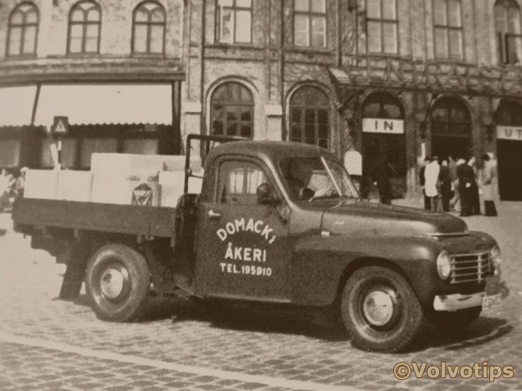 Volvo PV445 pickup - Volvo made a pickup...I need