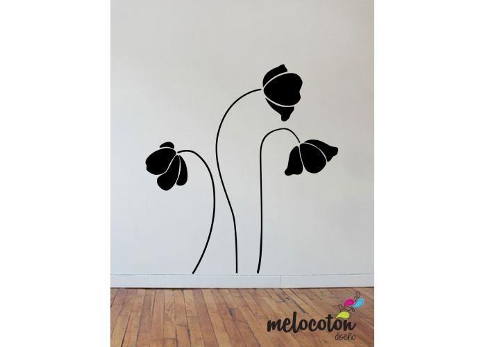 Melocotón Diseño: Flores Altas - Kichink!