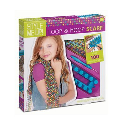 Style Me Up Loop & Hoop Scarf Kit | Debenhams