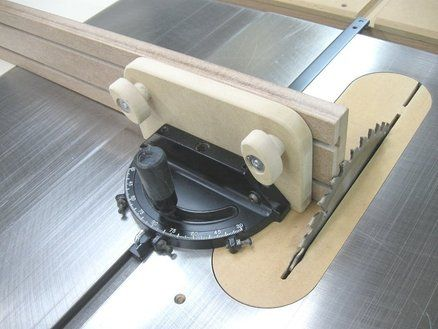 A 100 Miter Gauge For 1 By Bricofleur Woodworking Community Wood
