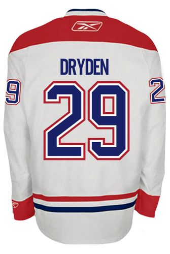 8aea14bd75e ... Mens Authentic Blue Jersey NHL Montreal Canadiens VINTAGE Ken DRYDEN 29  Official Away Reebok Premier Replica NHL Hockey Jersey ...