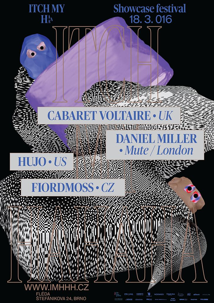 Work / Graphic Design The Rodina creates colourful creature-filled identity for music festival
