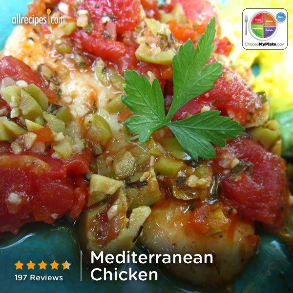 Mediterranean Style Chicken Recipe: 186 Best Images About Mediterranean Style On Pinterest