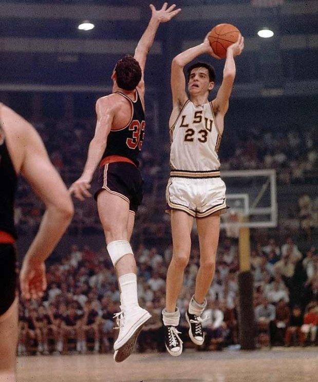 Pete Maravich at LSU | Basketball | Pinterest