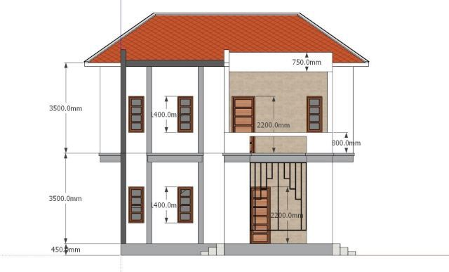 House Plans 8x7 With 2 Bedrooms Sam House Plans House Plans Bedroom House Plans 2 Bedroom House Plans