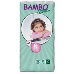 Pieluszki jednorazowe Bambo Nature XL 16-30 kg 44 szt tall pack ABENA Toddlersi