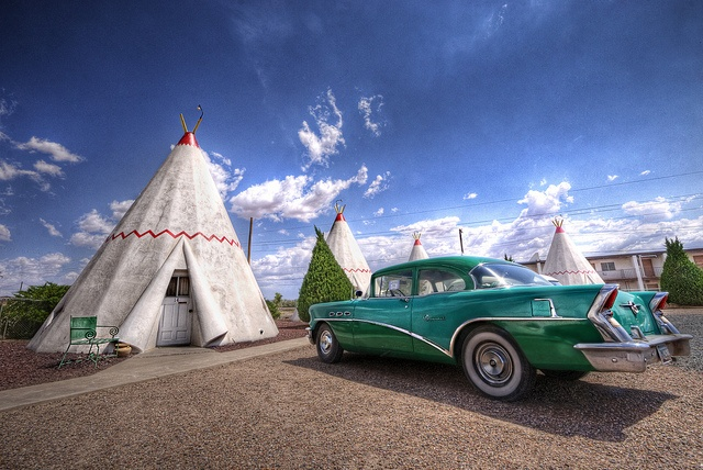 First of two Wig Wam Motels we will spend a night at!  Wigwam Hotel, Holbrook, AZ