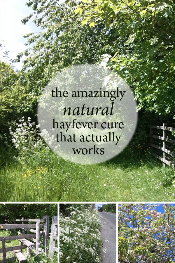 The amazing natural hayfever cure that actually works!