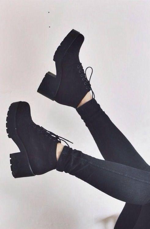 Grunge Chunky Boots