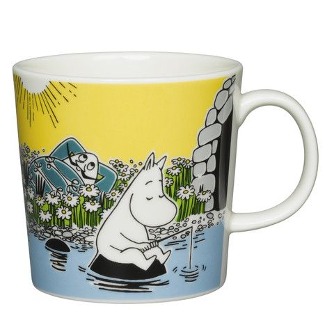 Moomin Summer Mug 2015 - Moment on the Shore - The Official Moomin Shop