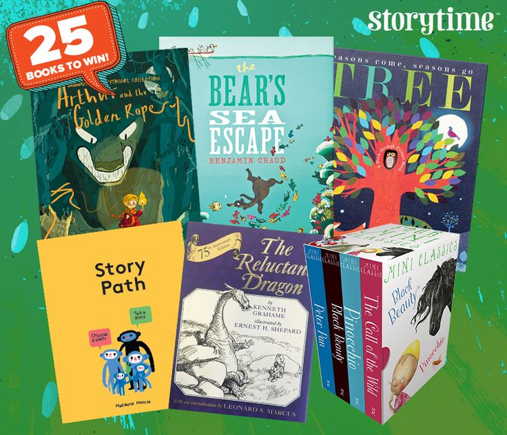25 books up for grab in Storytime's 2nd anniversary bumper competition! Enter here: http://www.storytimemagazine.com/win