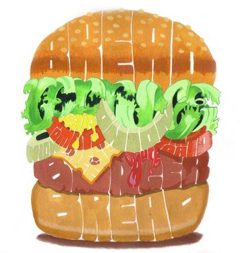 Type hamburger
