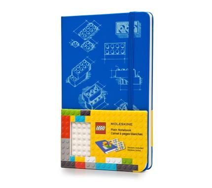 It's blue AND has LEGO plate on the cover PLUS great stickers ? Instabuy.