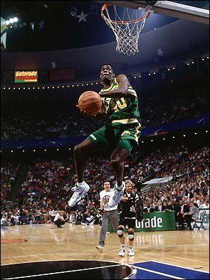 Shawn Kemp Double Pump