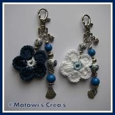 DIY gifts crochet key rings