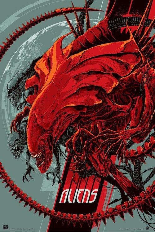 Aliens & Predator by Ken Taylor & Ash Thorp