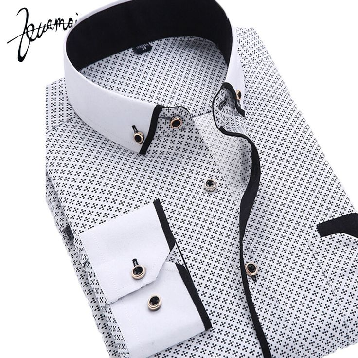 ZM69  New Men Shirt Long Sleeve Casual Fashion Brand Printing Slim Iron Camisa Masculina Floral Print Camisa Slim Fit Men Shirt