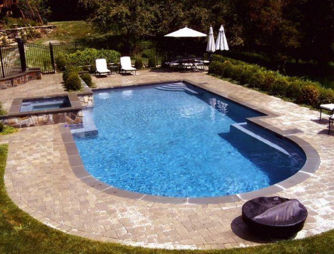 garten pool ideen rund eckig whirlpool gestaltung pool. Black Bedroom Furniture Sets. Home Design Ideas