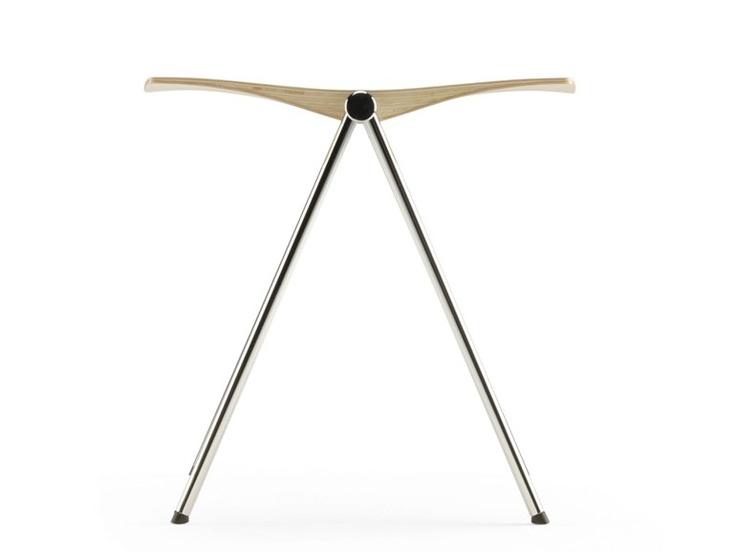 Wooden stool CLASH 239 Clash Collection by ARKTIS furniture | design Samuli Naamanka