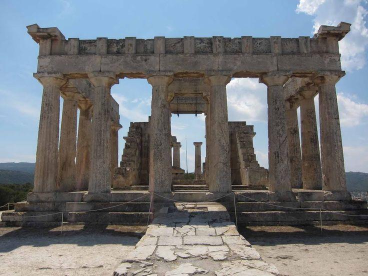We ❤ Greece | Temple of Aphea, #Aegina island #Greece #travel #explore #destination