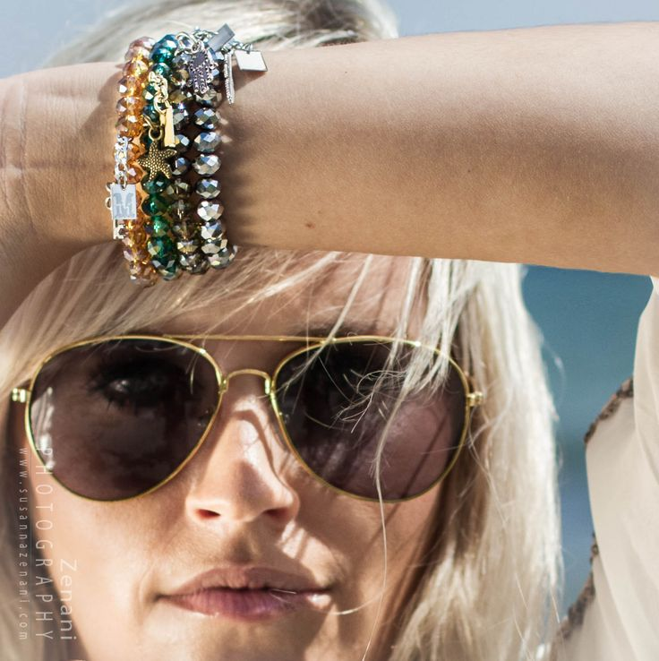 jewellery on the beach, mai copenhagen, beautiful bracelets, location photography, woman and jewellery on the beach, arm to face pose