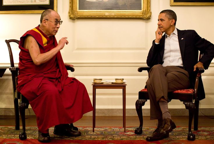 Ο Ομπάμα υποδέχθηκε τον Δαλάι Λάμα στο Λευκό Οίκο