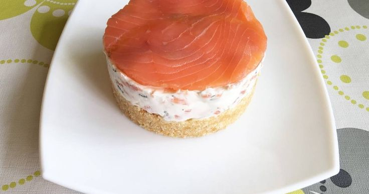 Fabulosa receta para Cheesecake salado de salmón. #MiOperacionBikini Cheesecake ligero y sano