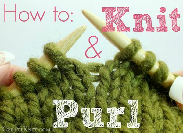 How To Knit Purl Stitch For Beginners : 25+ best ideas about Learn how to knit on Pinterest How to knit, Knit stitc...