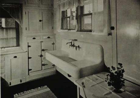 Old Drainboard Kitchen Sink