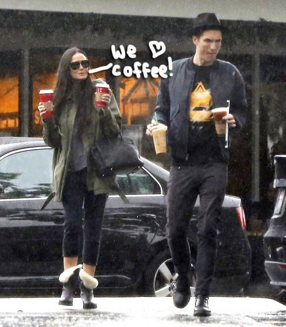 Demi Moore & Her Rocker Boyfriend Are Still Hot & Heavy After One Year Of Dating!