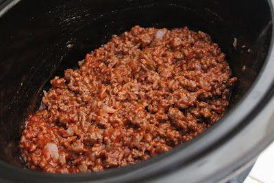 Easy Crock Pot Sloppy Joes! - Yummy Healthy Easy