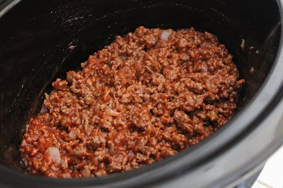 Easy Crock Pot Sloppy Joes! - Yummy Healthy Easy