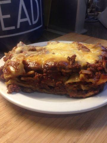 Vicki-Kitchen: Tasty easy lasagne (Slimming World friendly)