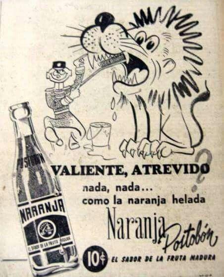 Naranja postobon 1955