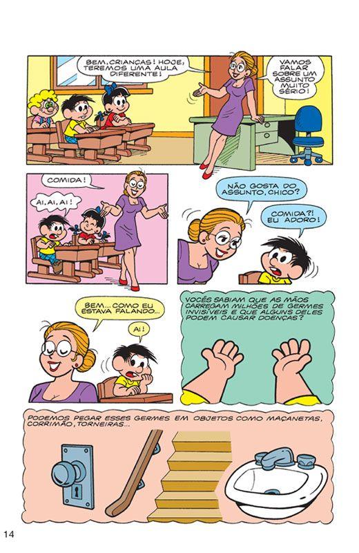 Turma Da Monica Alimentos Saudaveis Turma Da Monica Gibi
