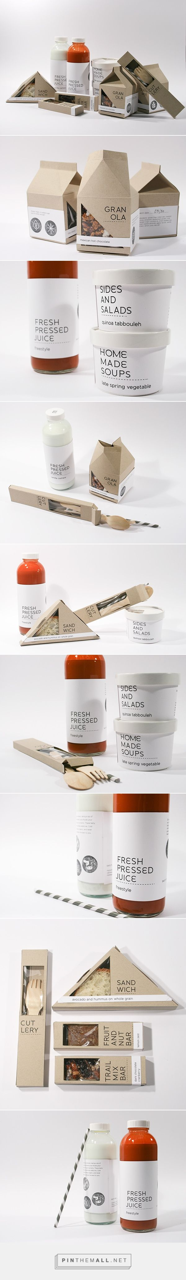 New Leaf Packaging Branding on Behance by Joy Allen curated by Packaging Diva PD. Branding and packaging for a fictional market catering to people with food allergies.