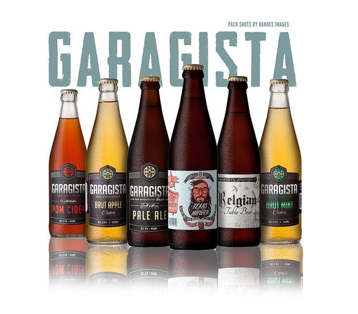 """Bakkes Images Blog/Newsletter article opening images """"Garagista Craft Beer."""""""