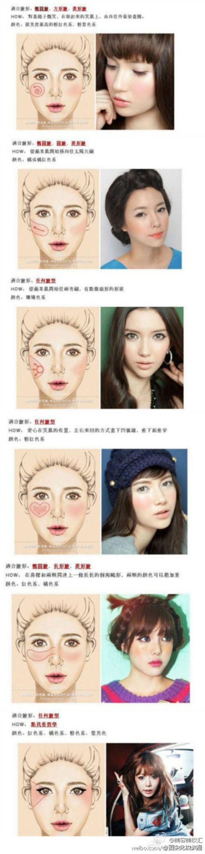 Blush Application